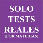 Miles de test reales de exámenes de todas las Administraciones Públicas