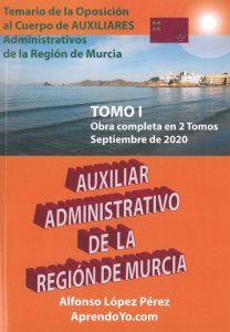 Libro oficial Aprendoyo.com Auxiliares Región de Murci